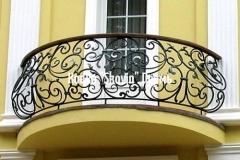 Кованый балкон № 1