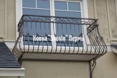Кованый балкон № 10