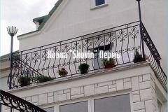 Кованый балкон № 13