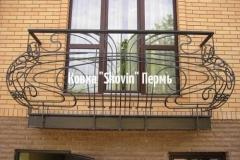 Кованый балкон № 14