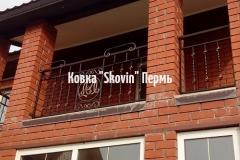 Кованый балкон № 17