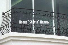 Кованый балкон № 18