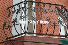 Кованый балкон № 2