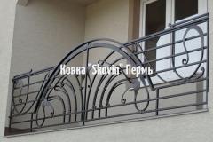 Кованый балкон № 22