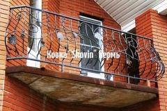 Кованый балкон № 25
