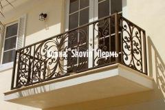 Кованый балкон № 27