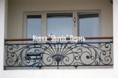 Кованый балкон № 28