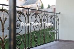 Кованый балкон № 31