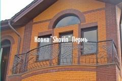 Кованый балкон № 35