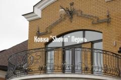 Кованый балкон № 36