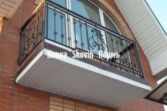 Кованый балкон № 41