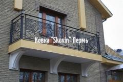 Кованый балкон № 47