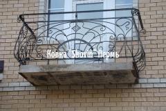 Кованый балкон № 55