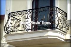 Кованый балкон № 6