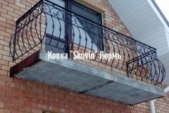 Кованый балкон № 7