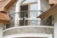 Кованый балкон № 8