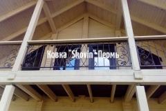 Кованый балкон № 9
