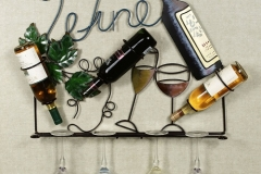 Кованая подставка под бутылку № 2
