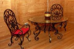Кованые стулья № 5