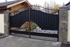 Кованые ворота № 4